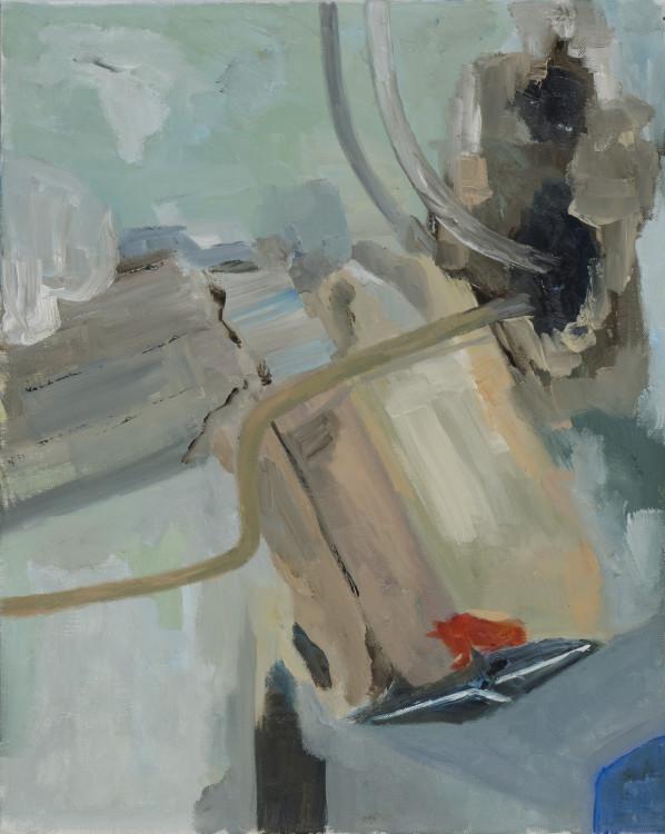 2014- kelder-olieverf op canvas- 40x 50 cm